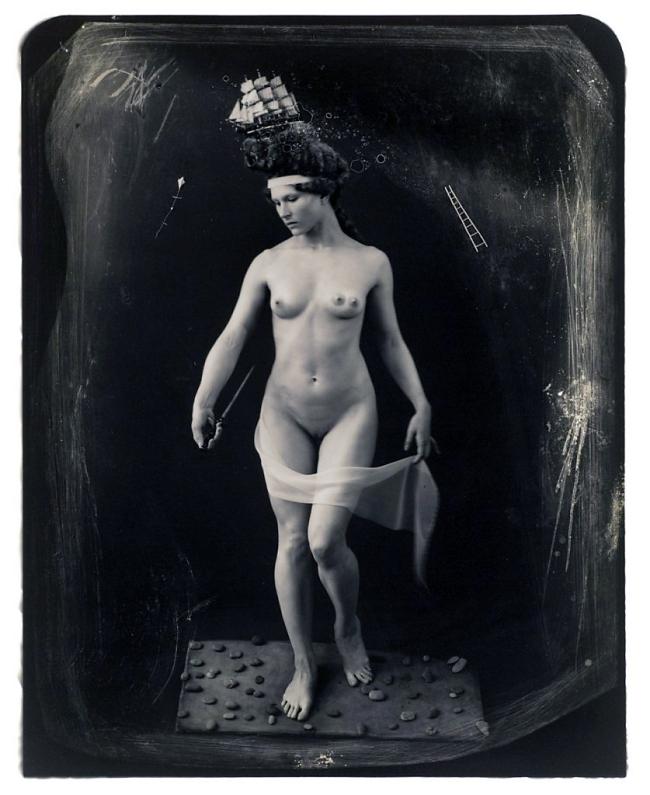 Joel-Peter Witkin(American, 1939-) 'Beauty Had Three Nipples' 1998