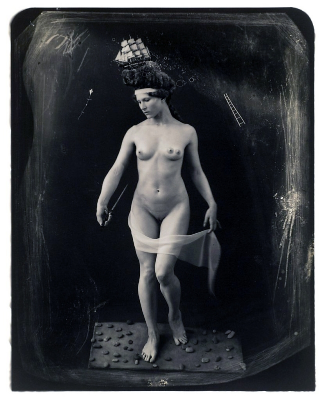 Joel-Peter Witkin (American, 1939-) 'Beauty Had Three Nipples' 1998
