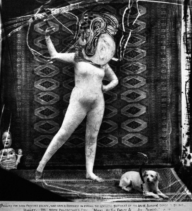 Joel-Peter Witkin (American, 1939-) 'Model At The End Of Art School' 2009