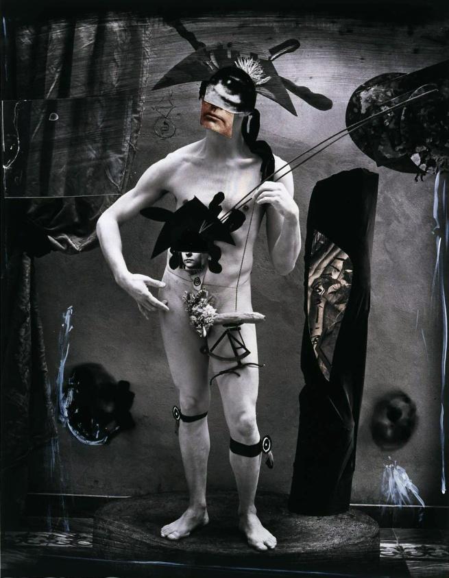 Joel-Peter Witkin(American, 1939-) 'Monsieur Baguette As Orpheo' 2004