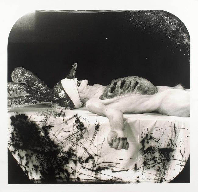 Joel-Peter Witkin(American, 1939-) 'Myself As A Dead Clown' 2007