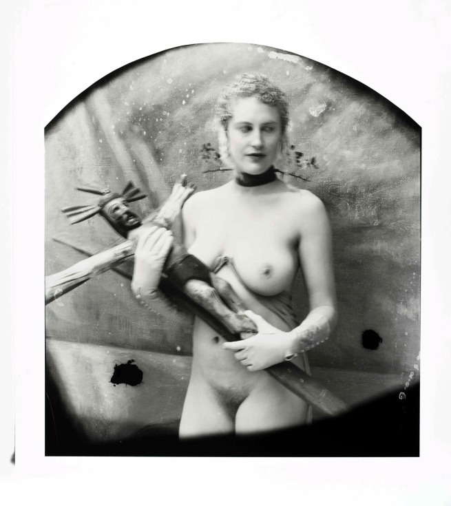 Joel-Peter Witkin (American, 1939-) 'Presenter Of The End Of Time Award' 2013
