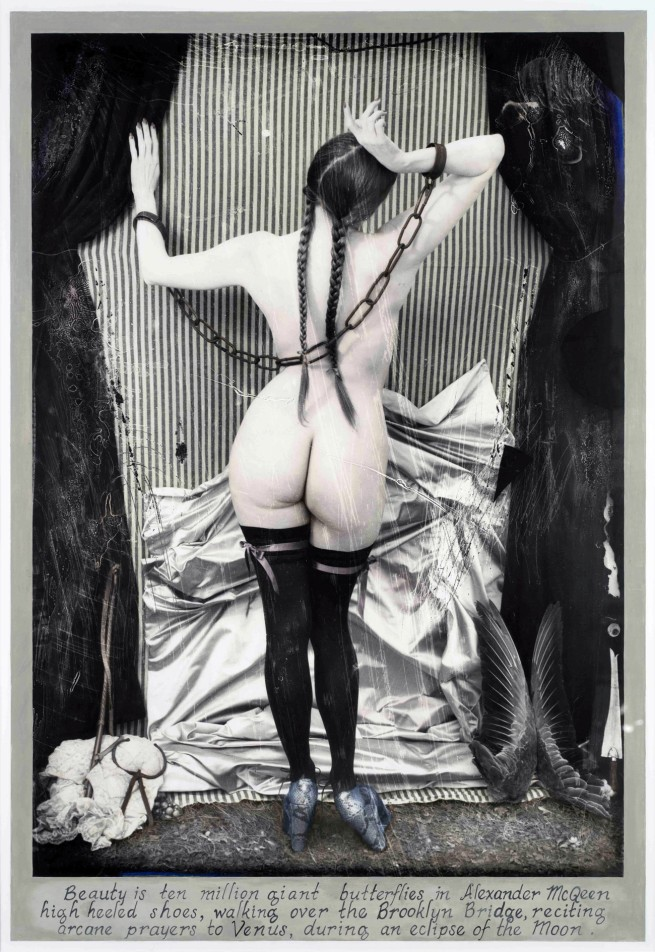 Joel-Peter Witkin (American, 1939-) 'The Paris Triad : Venus in Chains, Paris' 2010