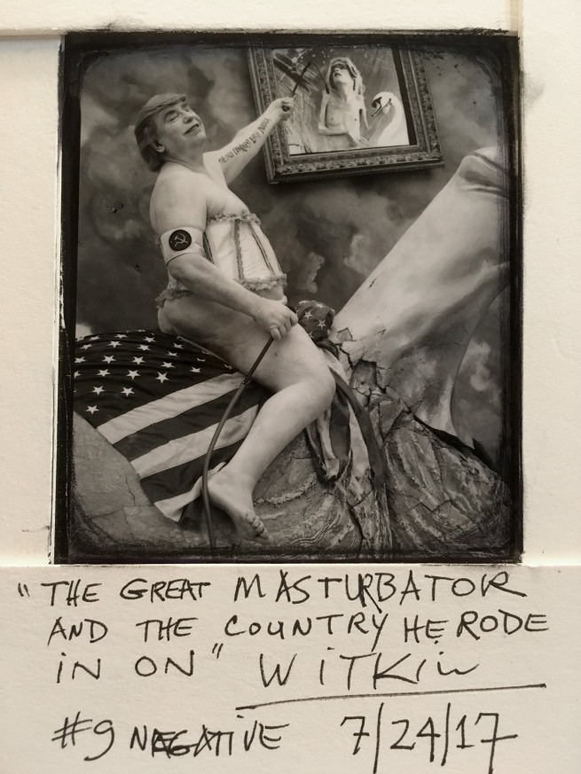 Joel-Peter Witkin (American, 1939-) 'The Great Masturbator And The Country He Rode In On, New Mexico' 2017