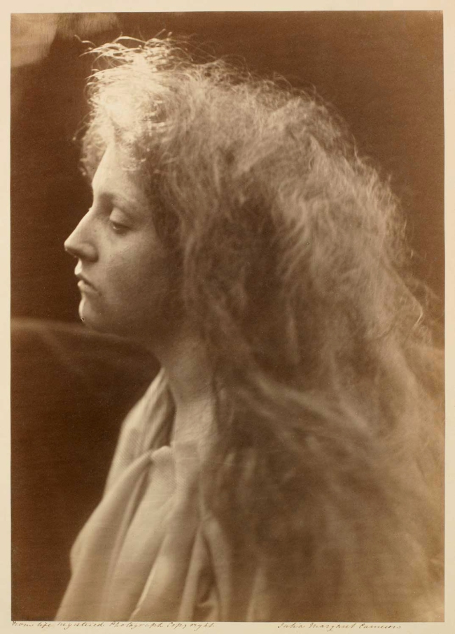 Julia Margaret Cameron. 'The Angel at the Tomb' 1870