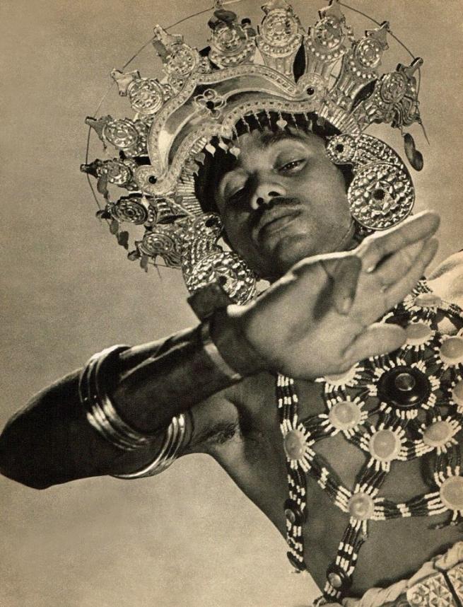 Lionel Wendt. 'Gunaya Yakdessa Costume' Nd