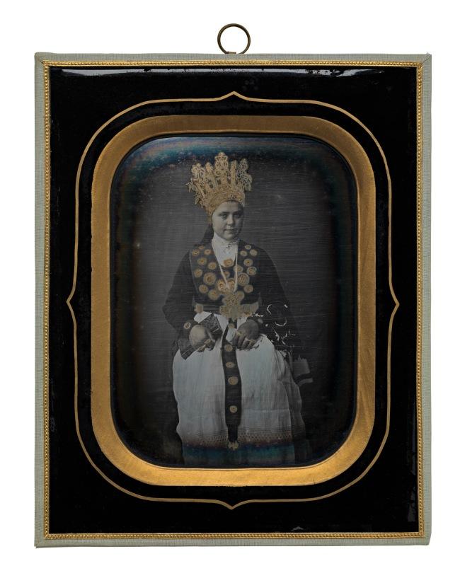 Marcus Selmer. 'Bride from Birkeland' 1855
