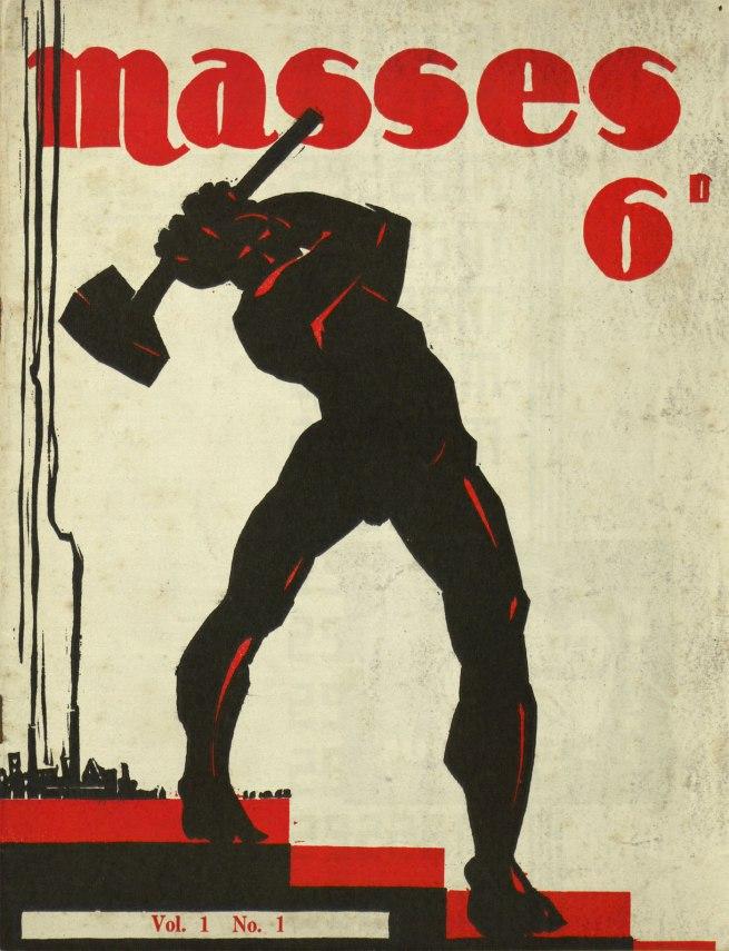 Jack Maughan illustrator (Australia 1897-1980) 'Masses' 1932
