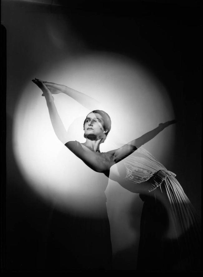Max Dupain (Australia 1911-92) 'Tamara Tchinarova in Presages' 1937