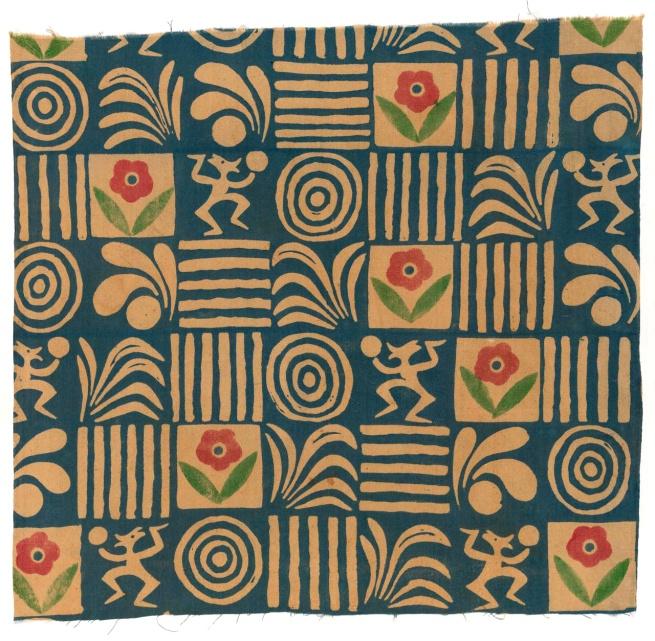 Michael O'Connell designer (England 1898-1976, Australia 1920-37) 'Textile' c. 1933