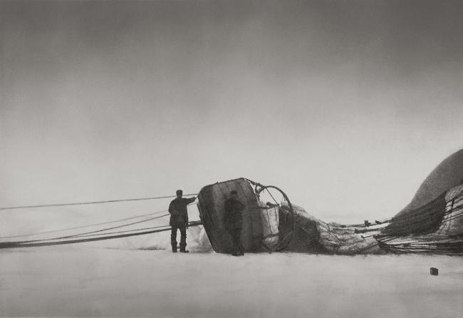 Nils Strindberg. '14/7 1897. After the crash' 1897/1930