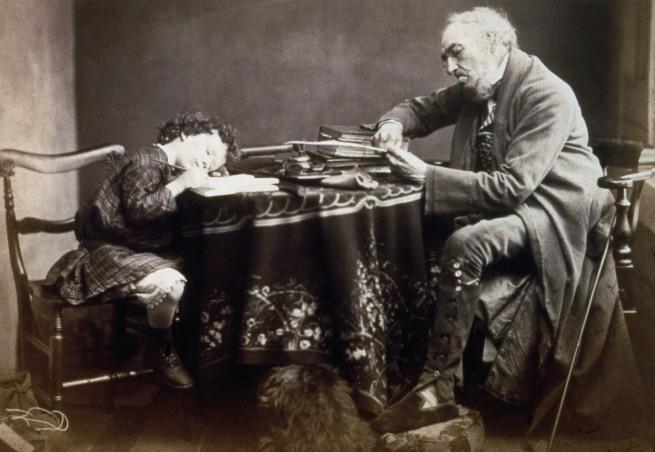 Oscar Gustave Rejlander. 'Lesson' 1860