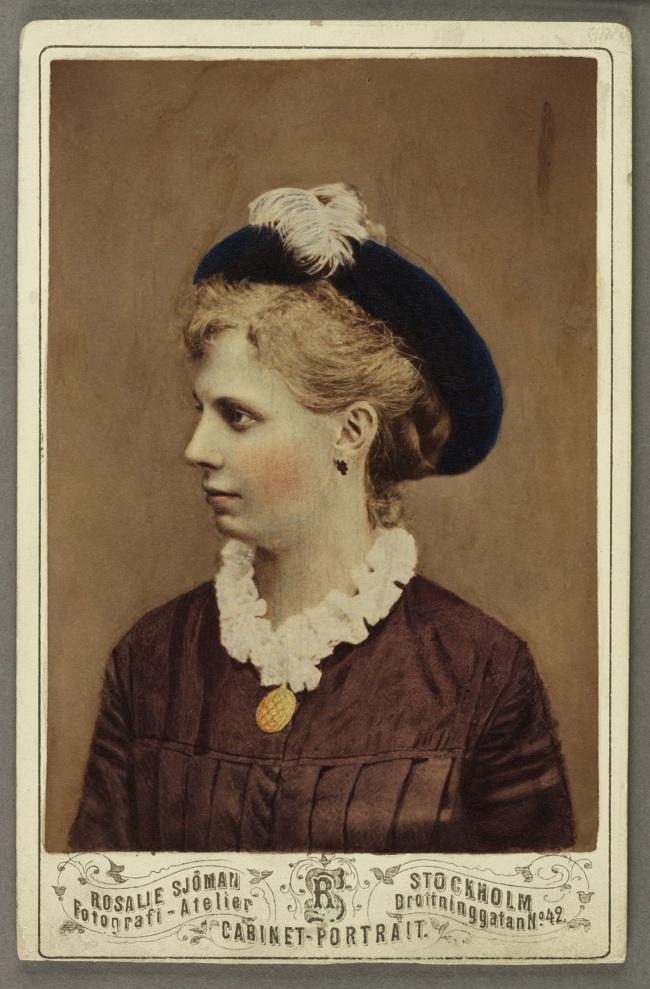 Rosalie Sjöman. 'Alma Sjöman' c. 1875