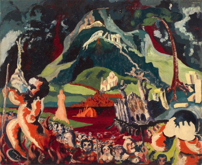 Bernard Smith (Australia 1916-2011, England and Europe 1948-51) 'The advance of Lot and his Brethren' 1940