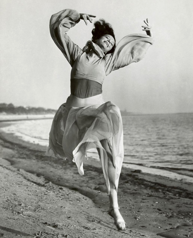 Australia, Unknown photographer. 'Sonia Revid dancing on Brighton beach' c. 1935