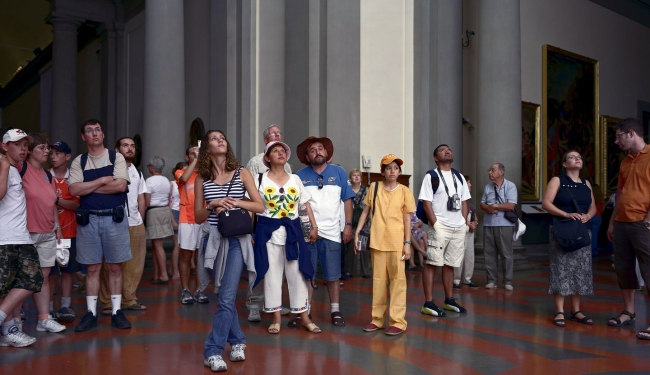 Thomas Struth(born 1954) 'Audience 7, Florence' 2004