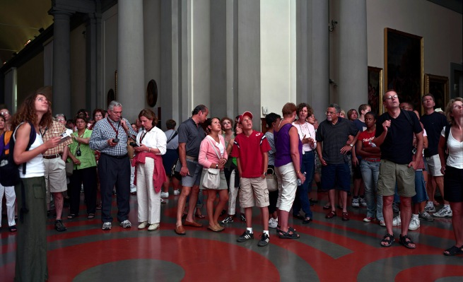 Thomas Struth (born 1954) 'Audience 11, Florence' 2004