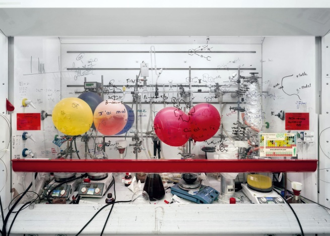 Thomas Struth (born 1954) 'Chemistry Fume Cabinet, The University of Edinburgh' 2010