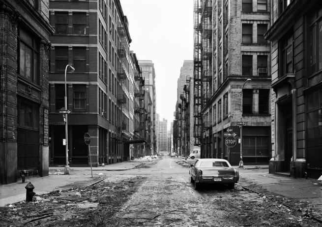Thomas Struth (born 1954) 'Crosby Street, Soho, New York' 1978