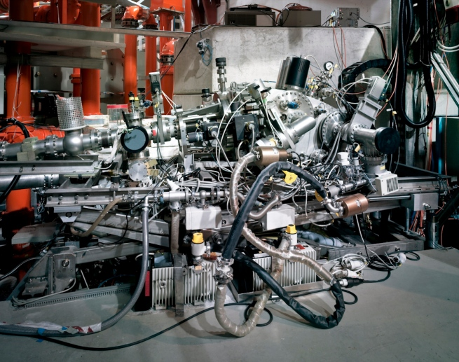 Thomas Struth (born 1954) 'Grazing Incidence Spectrometer, Max Planck IPP, Garching' 2010