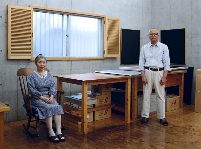 Thomas Struth(born 1954) 'Kyoko and Tomoharu Murakami, Tokyo' 1991