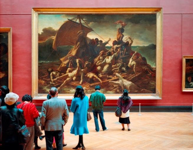 Thomas Struth(born 1954) 'Louvre 4 Paris' 1989