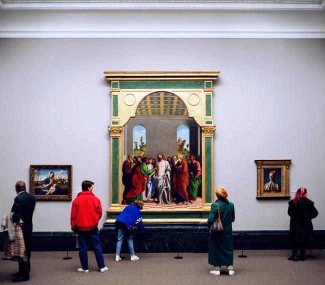 Thomas Struth(born 1954) 'National Gallery 1, London' 1989