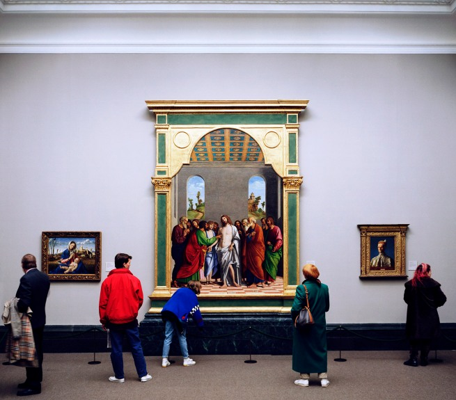 Thomas Struth (born 1954) 'National Gallery 1, London' 1989