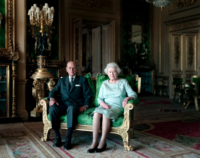 Thomas Struth (born 1954) 'Queen Elizabeth II & The Duke of Edinburgh, Windsor Castle' 2010