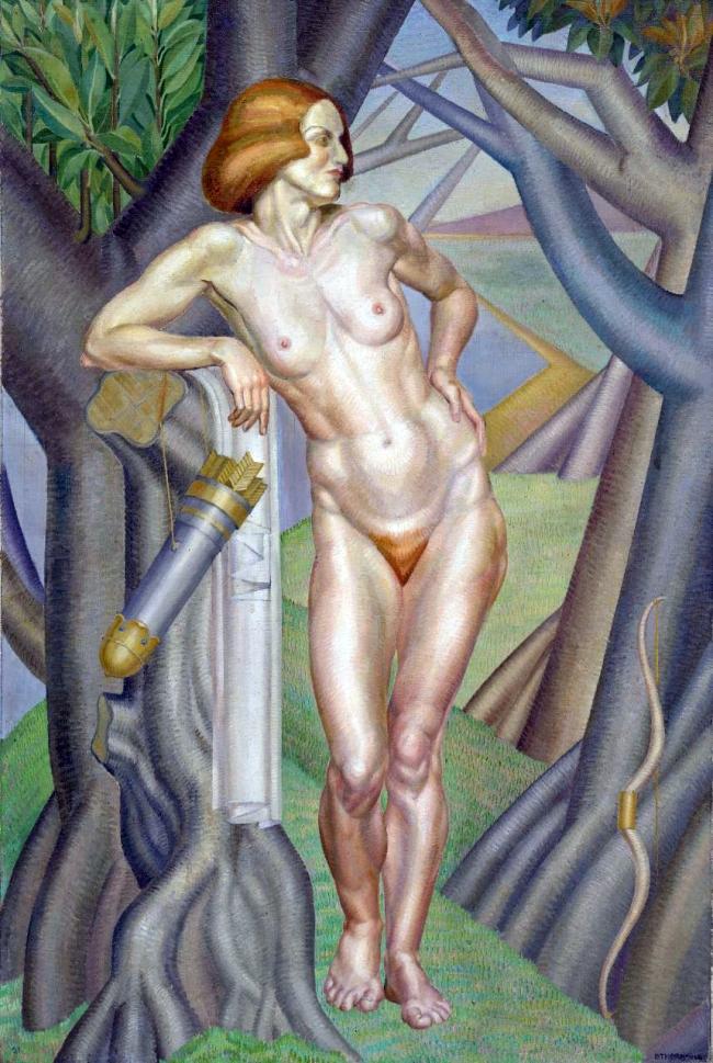 Dorothy Thornhill (England 1910 - Australia 1987, New Zealand 1920-29, Australia from 1929) 'Resting Diana' 1931