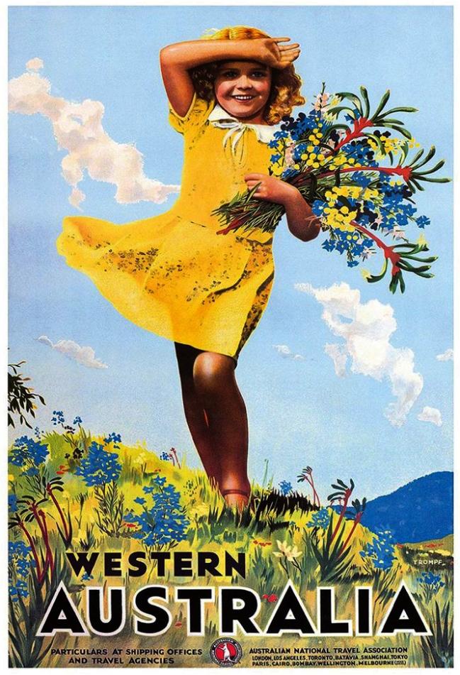 Percy Trompf (Australia 1902-64) 'Western Australia' c. 1936