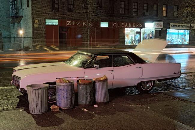 Langdon Clay. 'Zizka Cleaners car, Buick Electra' 1976