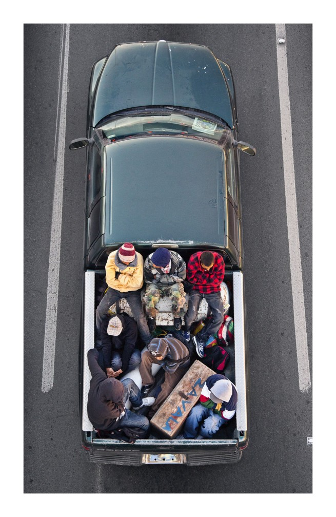 Alejandro Cartagena. 'The Carpoolers' series 2011–12