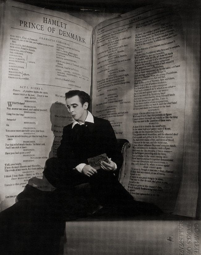 Angus McBean (1904-1990) 'Sir Robert Murray Helpmann' 1950