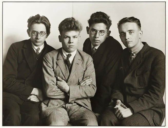 August Sander (1876-1964) 'Working Students' 1926, printed 1990