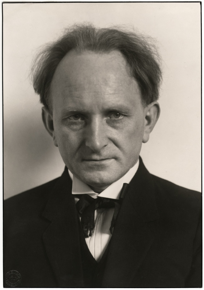 August Sander (1876-1964) 'Photographer [August Sander]' 1925, printed 1990
