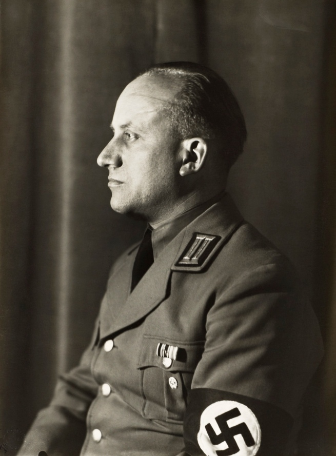 August Sander (1876-1964) 'National Socialist, Head of Department of Culture' c. 1938, printed 1990