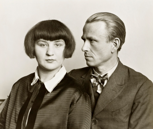 August Sander (1876-1964) 'The Painter Otto Dix and his Wife Martha' 1925-6, printed 1991
