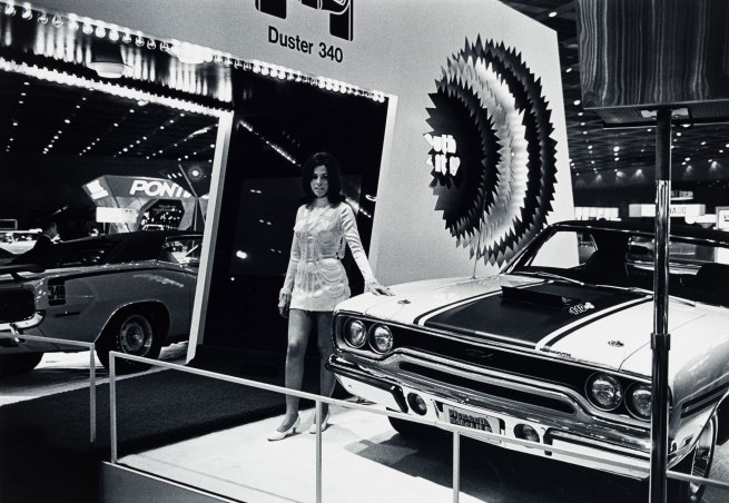 Bill Rauhauser. 'Detroit Auto Show' series c. 1975