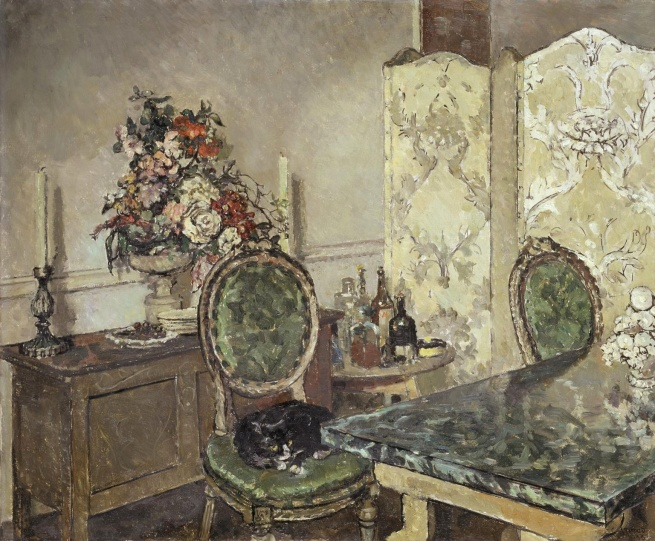 Clare Atwood (1866-1962) 'John Gielgud's Room' 1933