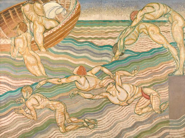 Duncan Grant. 'Bathing' 1911