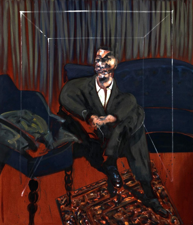 Francis Bacon. 'Seated Figure' 1961