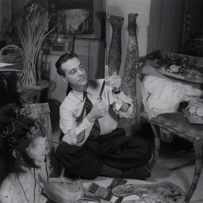 Francis Goodman (1913-1989) 'Oliver Messel' 1945