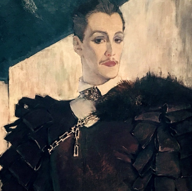 Glyn Warren Philpot (1884-1937) 'Glen Byam Shaw as 'Laertes'' 1934-5