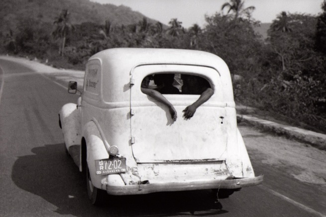 Bernard Plossu. 'Sur la route d'Acapulco, Mexique' 1966
