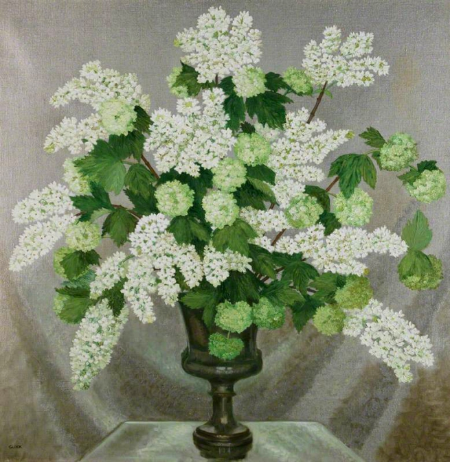 Gluck (1895-1978) 'Lilac and Guelder Rose' 1932-7