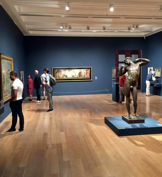 Installation view of Room 1 of the exhibition 'Queer British Art' at Tate Britain