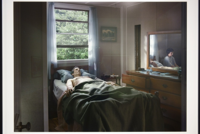 Installation view of Room 2 of 'Gregory Crewdson: Cathedral of the Pines' at The Photographers' Gallery