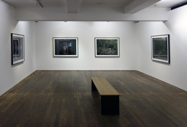 Installation view of Room 3 of 'Gregory Crewdson: Cathedral of the Pines' at The Photographers' Gallery