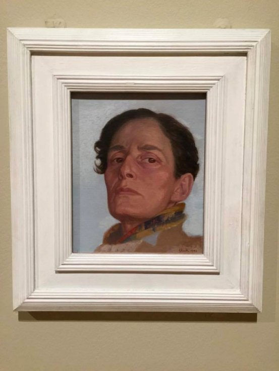 Installation view of Gluck's 'Self-Portrait' 1942